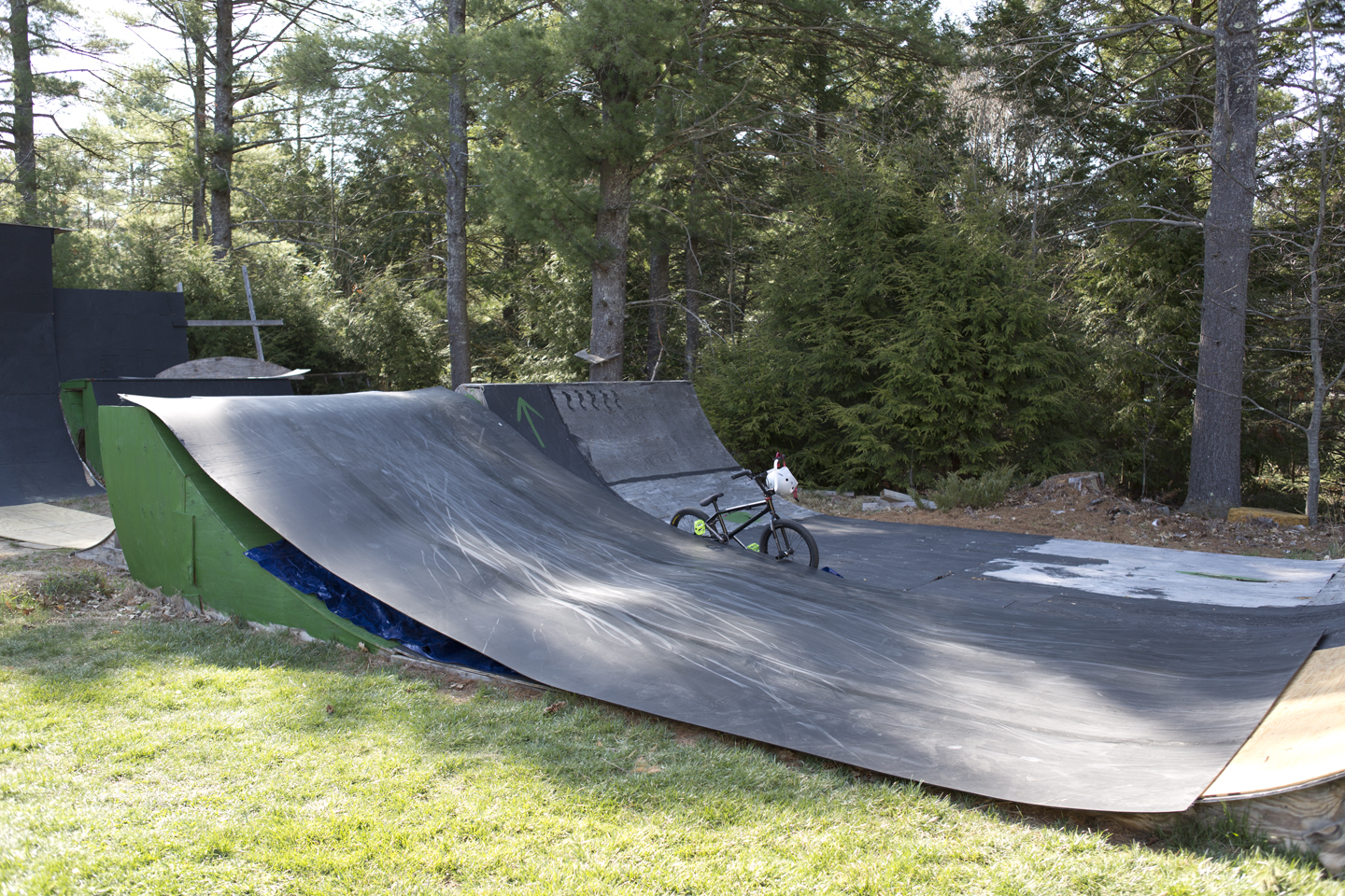 Backyard Bmx Ramps andy's yard | resi ramp material
