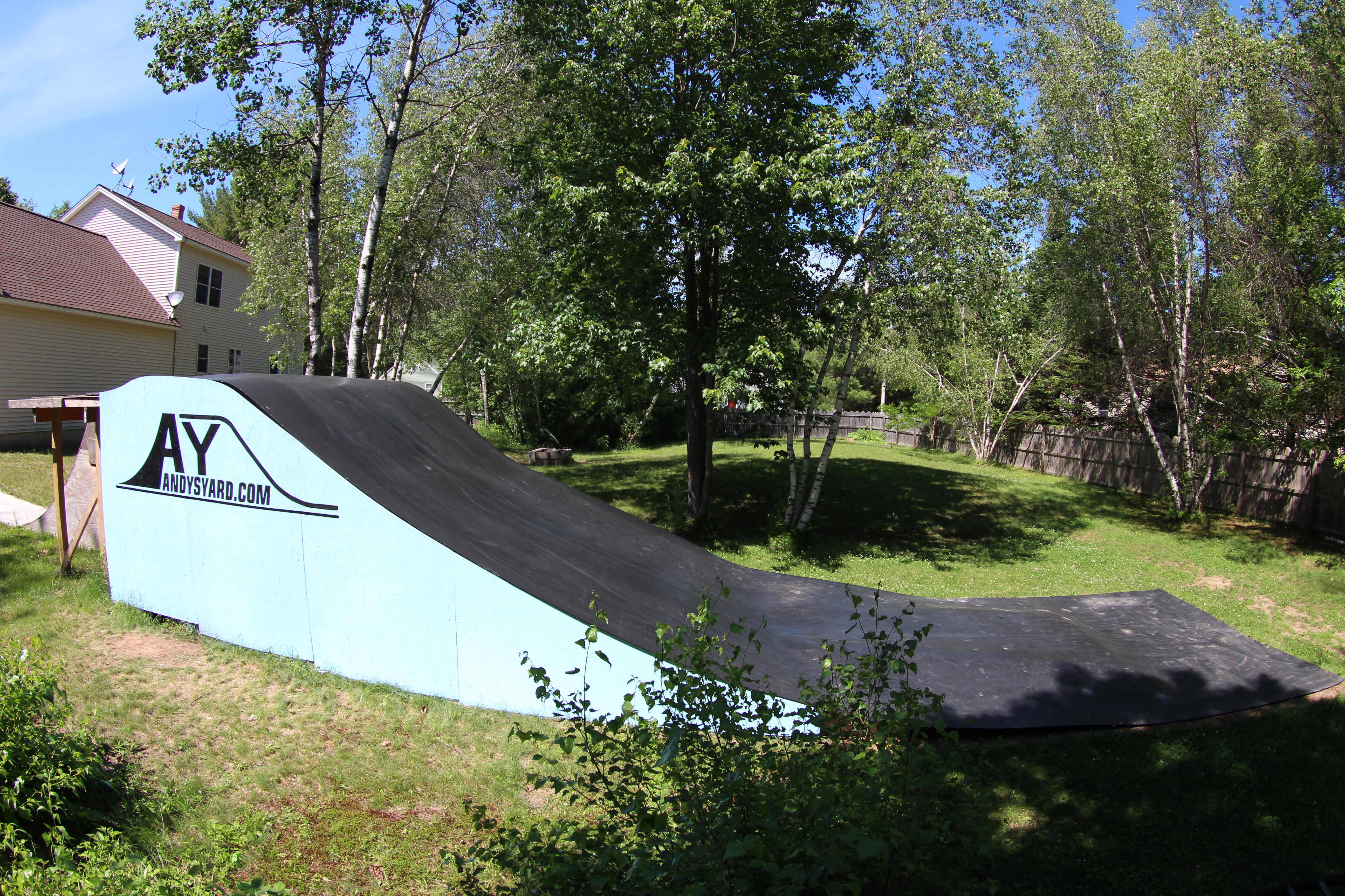 andy u0027s yard resi ramp material